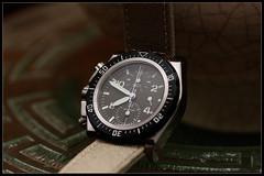 IMG_1372 (bakelite1) Tags: sable canvas kaki destro chrono matwatches ag5chl