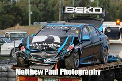 2014 V8 Supercar Test Day - June 4th - Queensland Raceway (adrenalinmatt) Tags: erebus test 3 alex june turn canon eos day crash hard 4th betty will impact mercedesbenz queensland motorsports v8 amg supercars raceway 2014 e63 davison 70d saundersklimenko