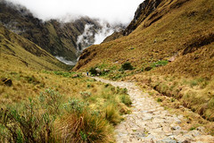 Inca trail | 2nd day. (Asami DG) Tags: camping mountains peru latinamerica southamerica inca cuzco trekking cusco inka adventure machupicchu caminodelinca backpackers inkatrail intipuku