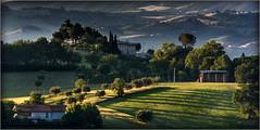 rural scenery (Luigi Alesi) Tags: light sunset shadow italy nature rural landscape nikon scenery san italia raw tramonto natura ombre severino luci marche paesaggio macerata rurale d7100