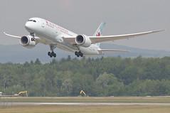 Air Canada Boeing 787-800 Deamliner; C-GHPQ@ZRH;02.06.2014/753al (Aero Icarus) Tags: plane switzerland aircraft departure flugzeug takeoff avion aircanada zrh zürichkloten flughafenzürich самолёт dreamliner boeing787 deamliner boeing787800 cghpq