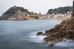 _DSC0051 (jlmontes) Tags: longexposure costa naturaleza beach night spain playa paisaje catalonia girona brava seda tossa efecto largaexposición nikkor35mm nikond3100 jlmontes
