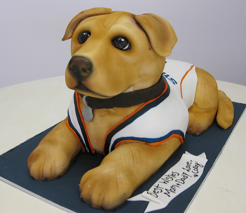 Colby the Dog Cake