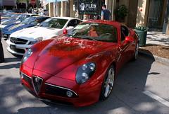 Alfa_Romeo_8C_2008_Competizione_AboveLSideFront_CECF_9April2011 (Valder137) Tags: auto car festival orlando florida celebration exotic romeo alpha 2008 automobiles 8c competezione