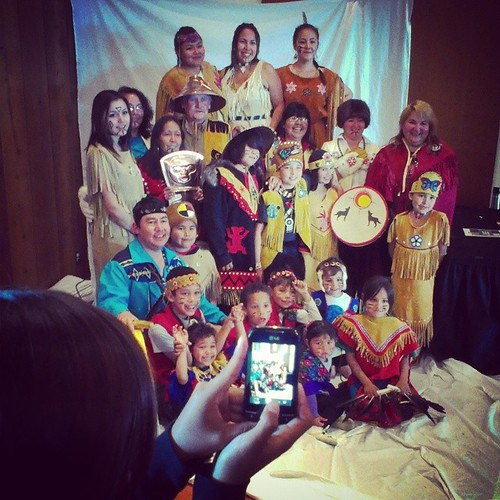 Some beautiful regalia was worn at Kwanlin Dün Cultural Centre for National Aboriginal Day celebrations #yxy #Yukon