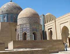 Uzbekistan . Samarkand (manu/manuela) Tags: architecture graves uzbekistan samarkand tombes ncropole muslimart ouzbkistan artislamique therubyawardsinvitation