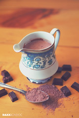 Hot Chocolate (Daxx F. Bondoc) Tags: food hot photography nikon chocolate nikkor dx d3200 3518g