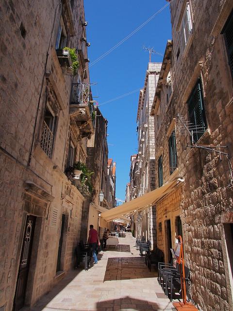 Dubrovnik的小巷