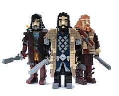 Heirs of Durin (Pate-keetongu) Tags: lego dwarf lotr hobbit tolkien dwarves dwarfs moc richardarmitage aidanturner deanogorman