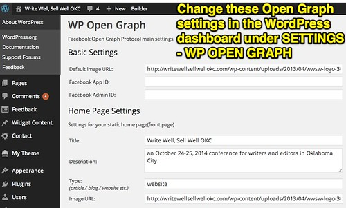 WP Open Graph by Wesley Fryer, on Flickr