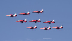 Red Arrows (Themagster3) Tags: aircraft airshow redarrows