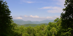 Smoky Mountain Days (rschnaible) Tags: park trees usa mountains forest outdoors us day view tn cloudy hiking tennessee south fair hike southern national vista smoky eastern rugged