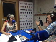 Angy entrevistada por la #LaJungla4.0 en Radio 4G