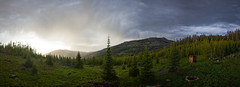 Sunstorm (MecCanon [DatAperture]) Tags: sunset panorama cloud mountain storm canon landscape atardecer eos golden soleil montana angle wide coucher sigma paisaje du hour hora panoramica tormenta gardiner nuage paysage 1020 15mm cloudporn nube stormcloud orage panoramique dorada jardine 60d