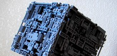 (Star Trek) Custom LEGO BORG Cube (02) (jonmarkiewitz) Tags: startrek lego borg moc borgcube