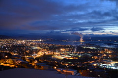 Nelson by night