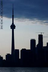 CN Tower Silhouette 2 (Jamie Hedworth) Tags: toronto ontario canada cntower lakeontario torontoskyline jamiehedworthphotography