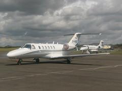 D-INOB Cessna Citation CJ2 (Aircaft @ Gloucestershire Airport By James) Tags: james airport gloucestershire cessna lloyds citation cj2 bizjet dinob egbj