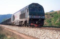 HXN3-0280  Sidaohe  06.05.14 (w. + h. brutzer) Tags: china analog train nikon eisenbahn railway zug trains locomotive cr lokomotive diesellok eisenbahnen dieselloks webru sidaohe hxn3