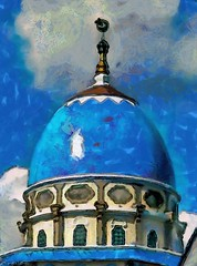 * Eid Greetings to all my Muslim friends * Balinese mosque in Painterly Style # Wcs1 #عيد Said #eidmubarak #mosque #photoart #paintography #eid #blue #architecture #religious Eid al-Adha # # # blessed (WhyCallSarah) Tags: blue friends painterly architecture religious all muslim eid july style mosque 28 greetings said photoart blessed paintography balinese 2014 عيد eidmubarak aladha wcs1 0235pm