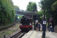 Chesham (3) (bernardf) Tags: londonunderground metropolitanline metropolitanrailway l150 cheshamstation ltmuseum steamonthemet steamontheunderground metropolitan1 chesham125