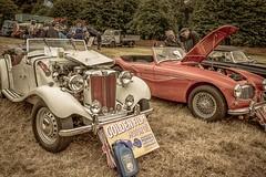 MG TD Convertible (technodean2000) Tags: show uk west classic car wales pembroke nikon convertible mg pembrokeshire 1953 td lightroom worldcars d5200