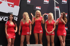 Winner (scienceduck) Tags: 15fav toronto ontario canada women contest july tdot indycar 2014 torontosun missindy scienceduck torontoindy hondaindy torontohondaindy 2into misstorontoindy