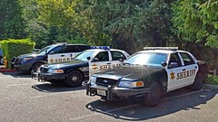 Snohomish County Sheriff's Office Ford Vehicles (andrewkim101) Tags: county ford mill station creek washington office state south police utility victoria wa crown suv interceptor precinct snohomish sheriffs
