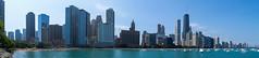 Chicago Lakefront (chrisar676) Tags: panorama usa chicago strand america skyscraper see us illinois unitedstates sony unitedstatesofamerica lakemichigan amerika lakefront hochhaus hochhäuser vereinigtestaatenvonamerika michigansee sonydscrx100m3