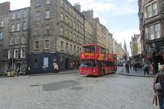 Edin 14. Dennis Trident Plaxton President (ronnie.cameron2009) Tags: bus buses edinburgh tour seeing sight dennis opentop plaxton citysighting