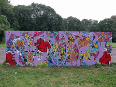 1 septembre 2014. vaires sur marne (Uno370) Tags: graffiti uno graff 370 marne 1000m bordsdemarne vairessurmarne