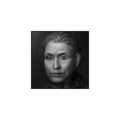 1999? Studying Digital Drawing (Masayo Nabeshima) Tags: portrait drawing dessin study
