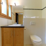 Bathroom at Apartment Pleney II - More Mountain Self-catered Apartments in Morzine