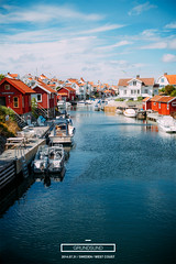 Throwback Thursday: Here is a photo from my vacation taken over the classic view over Grundsund. (FrederikWiedel) Tags: summer sweden falurdfrg grundsund