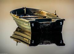 Old Kate. (AlbOst) Tags: old reflections boats fishing kate loch dragondaggeraward