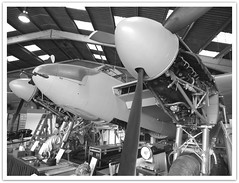 Restorative (dhcomet) Tags: museum aircraft military 1940s mosquito restoration airforce hertfordshire raf herts dehavilland londoncolney al2 dh98 salisburyhall