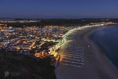 Nazar (Chencho Mendoza) Tags: portugal nikon nocturna leiria sitio nazar 2014 d610 chenchomendoza