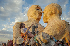 DSC__9560 (Lung S. Liu) Tags: city man black color colour art rock temple playa grace burning dust embrace 2014 caravansary