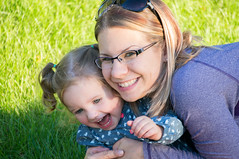 Mommy and Daughter (nicjhoch) Tags: girl mom fun kid child daughter laugh laughter