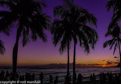 waikiki sunset (rod marshall) Tags: sunset hawaii waikikisunset