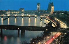Victoria Embankment (Leonard Bentley) Tags: uk london westminster bigben riverthames metropolitan westminsterbridge hungerfordbridge victoriaembankment lambethbridge palaceofwestminster millbanktower charingcrossrailwaybridge canonrow cannonrow