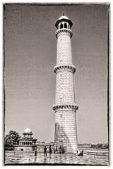 Agra IND - Taj Mahal Minarett 05