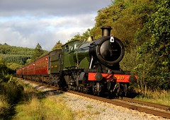 NYMR Autumn Gala 2014 (BillyGoat75) Tags: steamengine northyorkshire 280 gwr levisham nymr northyorkshiremoorsrailway newtondale autumnsteamgala 28xx platelayerscottage