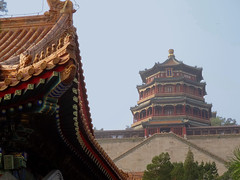 Longevity Hill (Don Csar) Tags: china building tower rooftop asia beijing summerpalace pekin longevityhill towerofbuddhistincense