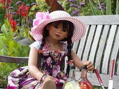 Setina ... (Kindergartenkinder) Tags: dolls annette wasserburg burg hülshoff havixbeck setina himstedt kindergartenkinder