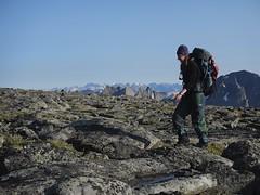 Jenny on Mount Hooker's Summit