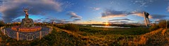 Siberian sunset, wish you were here 2 (geopalstudio) Tags: sunset panorama nature hdr nikond7000 promoteremotecontrol panomagiceu panobg