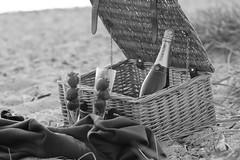 Champagne on the Beach (Linda Hazel Photography) Tags: beach picnic champagne poole champagneonthebeach