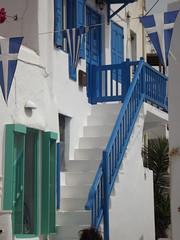 Mykonos (Vincentello) Tags: stairs greece grèce escalier mykonos