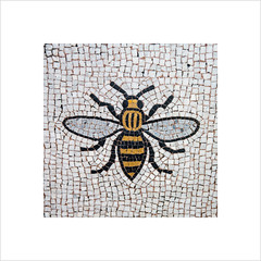 The symbol of Manchester (Explore 18/03/17 #46) (andyrousephotography) Tags: manchester townhall mosaic floor bee symbol industrialrevolution hard work image album square happy faith humanity andyrouse canon eos 5d mkiii